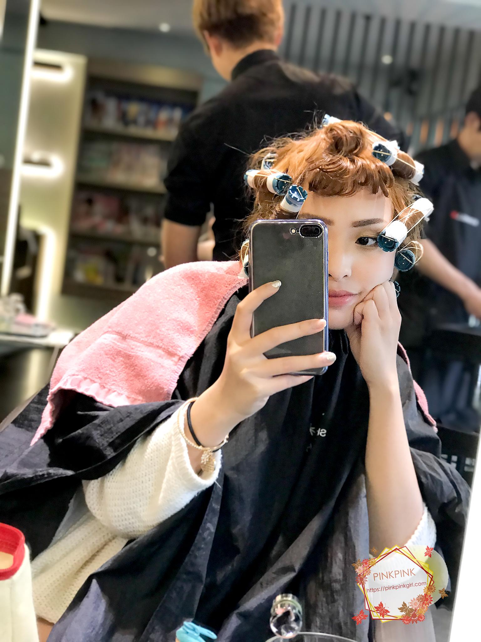 台中『夏森髮型』染護髮超推薦!溫柔質木系髮色~自然霧棕綠~染髮&護髮的溫潤光澤就交給『夏森』了!