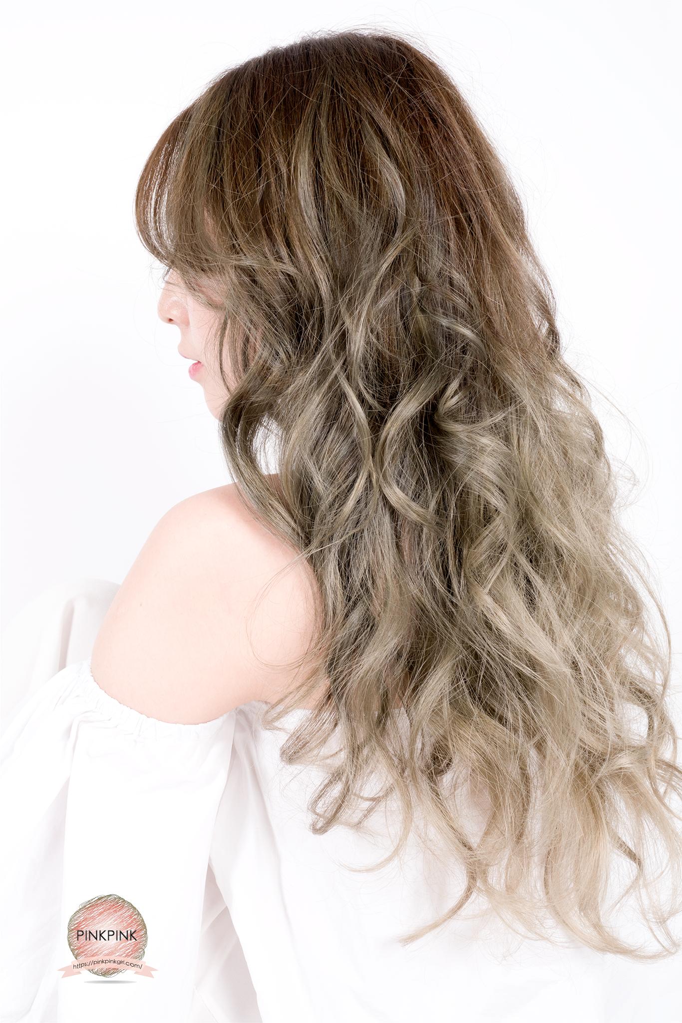 {台中}美髮小故事,『夏森髮型』染髮也保濕,薄荷綠的輕盈飄逸,擁有81種顏色染膏,讓我染髮再也不怕跟別人撞色了!